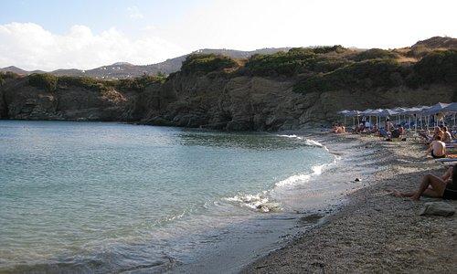 Psaromoura Beach, evening