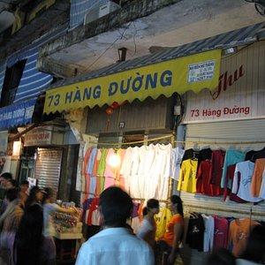 Night Market at Hanoi Hang Duong Str