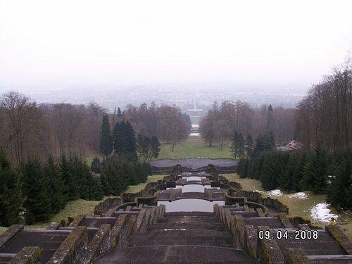View looking back towards Kassel