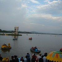 Sukhna lake....in evening