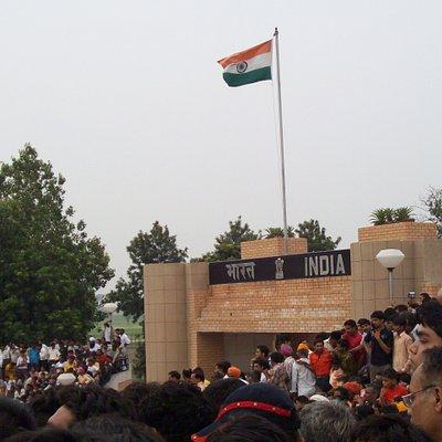 indian Flag at wagah
