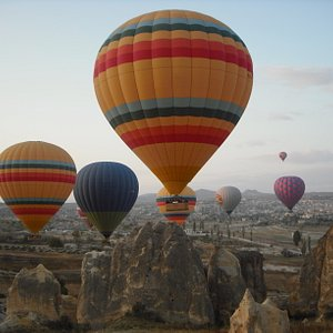 sunrise balloon ride in Cappadocia,Turkey