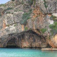Cave at Xlendi Beach