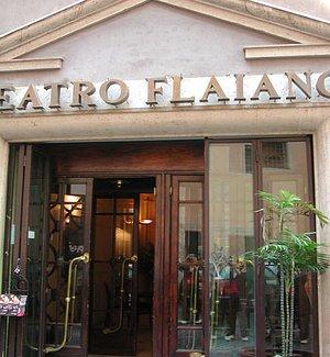 L'esterno del Teatro Flaiano