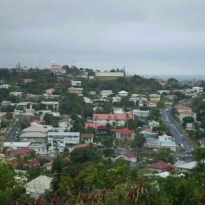 Views around Noumea from Mont Coffyn.