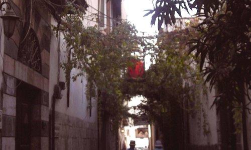 Passageway in Christian Quarter, Damascus
