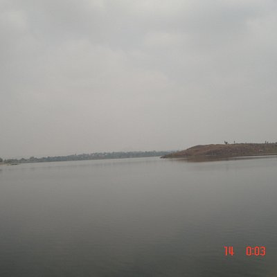 the first view of the lake