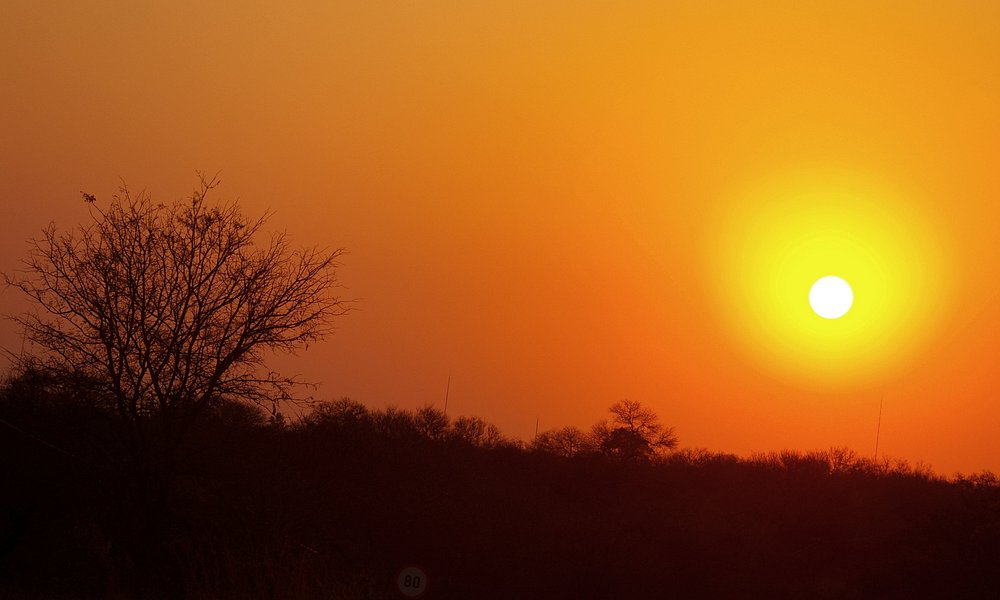 Sunset over the Lowveld