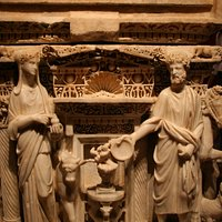 Sacophagus - intricate detail
