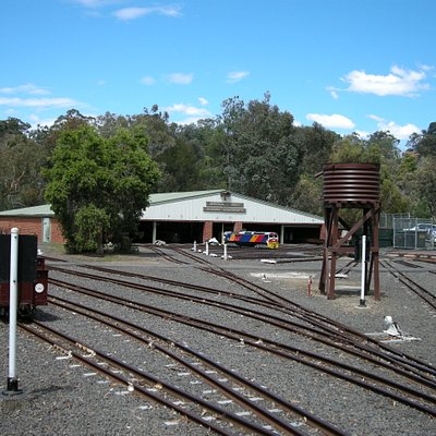 The track and workshop
