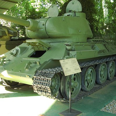 A Soviet tank at the SA National Museum of Military History