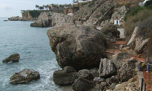 Paseo de los Carabineros - The derelict coastal pathway between Nerja (The Balcón) and Burriana