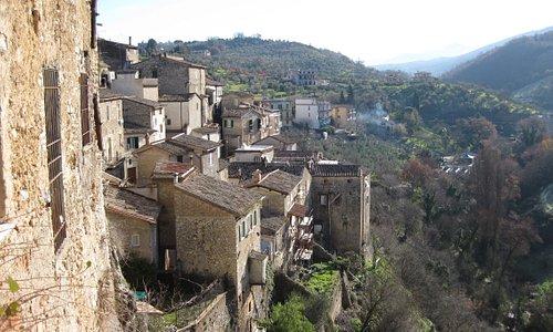 The beautiful setting of Toffia