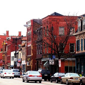 View Down Carson Street