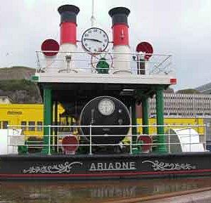 Steam clock, St Helier, Jersey, UK