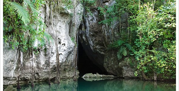 Barton Creek Cave Entrance