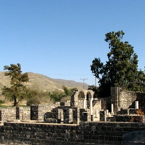 The remains of the monastry