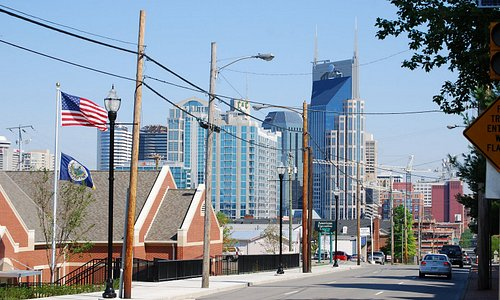 View of the Nashville Downtown