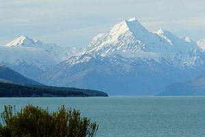 Lake Pukaki Mt Cook