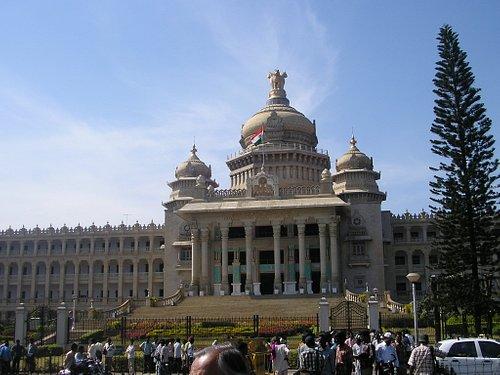 vidhana soudha in Bangalore