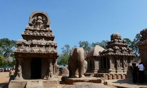 Mamallapuram - Five Rathas