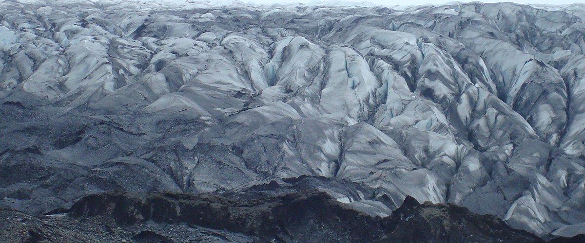 Skaftafellsjökull glacier.