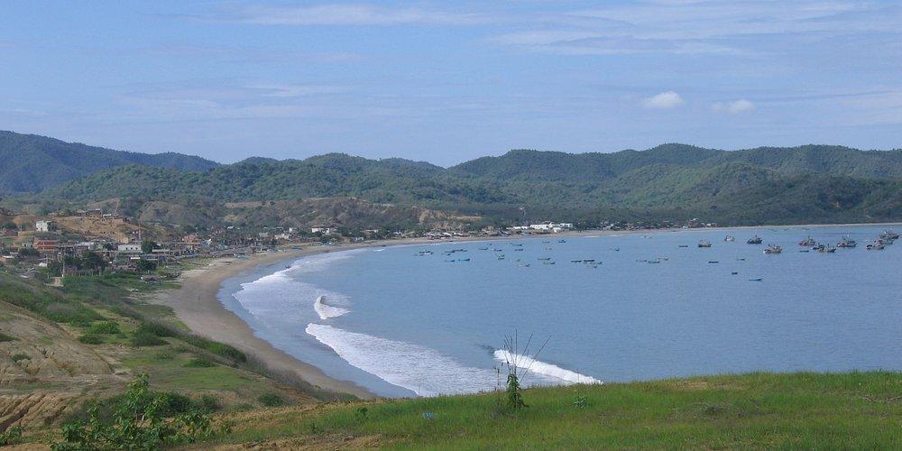 Bay at Puerto Lopez