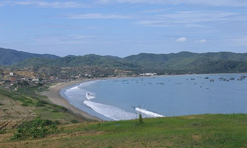 Bay at Puerto Lopez