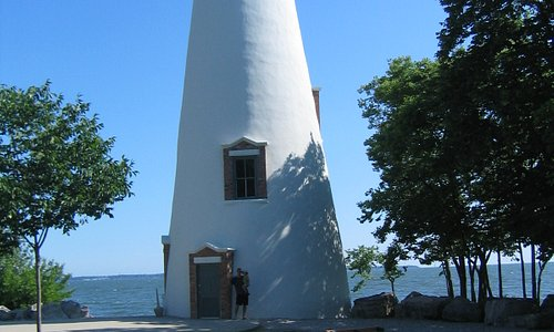 view of actual lighthouse