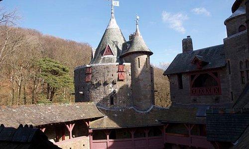 Castell Coch - exterior