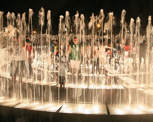 A water fountain for children of all ages