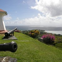 Cannons at Fort King George, Tobago