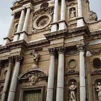 Chiesa della Pietà - la facciata barocca