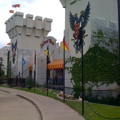 Medieval Times Dallas entrance