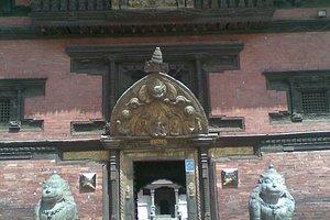 Patan Museum entrance