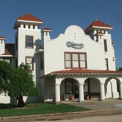 Quanah Station now a Museum