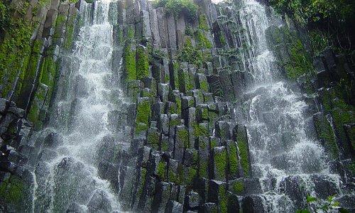 Cascada los Tercios, Suchitoto