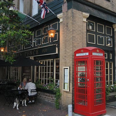 The Six Pence Pub- where the tour starts off