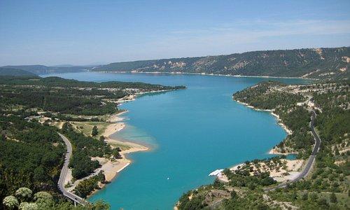 lago  di Ste-Croix du Verdon