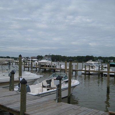 Bayside Marina - Colonial Beach has a big boating community