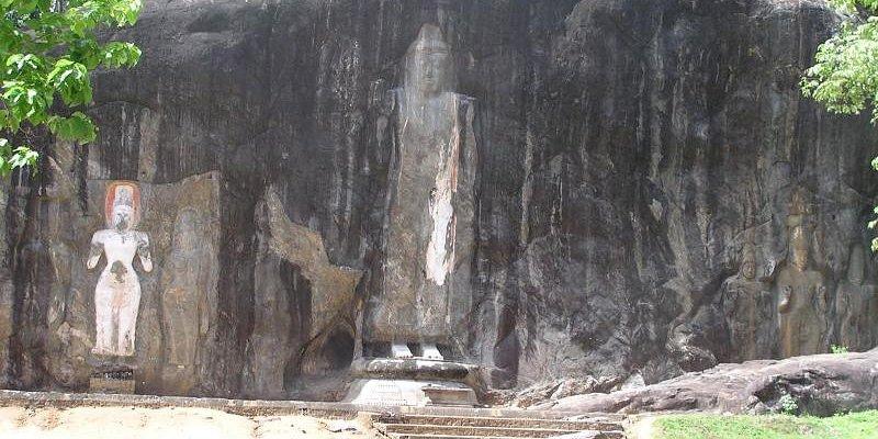 buddha at buduruwagala