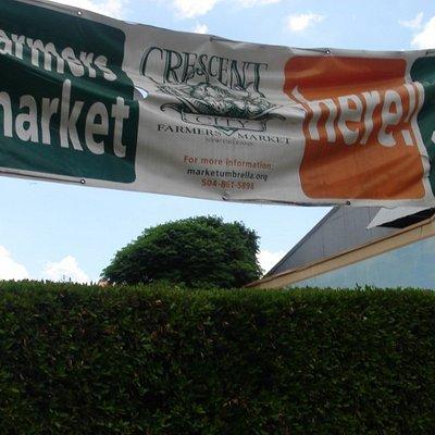 Farmers' Market Entrance