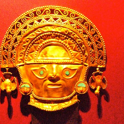 Figura cultura Inca , museo del oro lima 2009