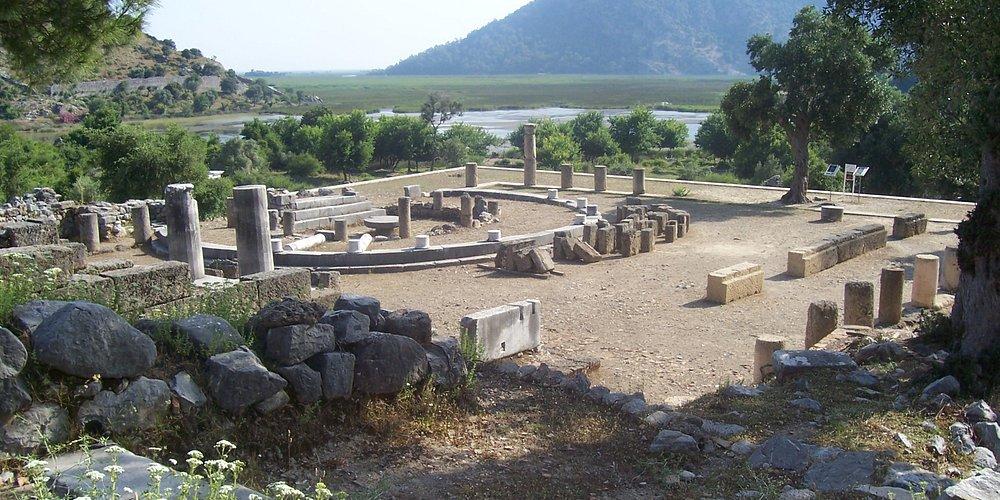 The ancient city of Caunos (Kaunos)