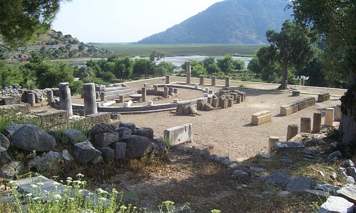 The ancient city of Caunos (Kaunos)