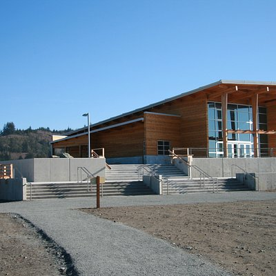Oregon Welcome Center - Crissey Field SP