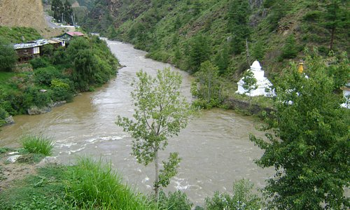 Confluence of Paro and Thimphu