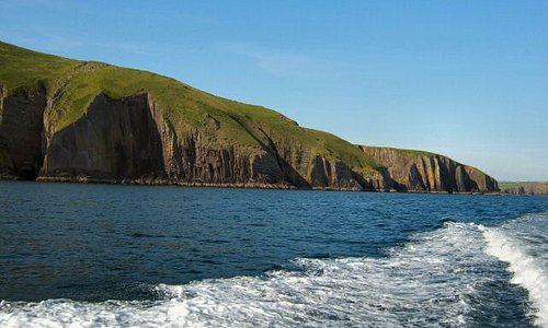 Leaving Dingle for Ventry Harbour