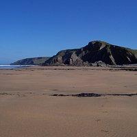 Sanymouth Beach, North Cornwall