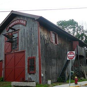 Exterior to Preservation Forge (Blacksmith Shop & Museum)